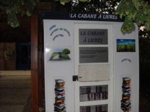 cabane à livres gratuits sur Ohain