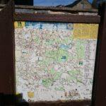 carte pour des randonnées autour de Baives
