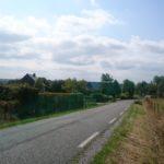 la route passant par Moustier en Fagne