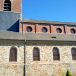 façade latérale de l'église St Nicolas