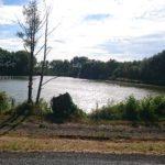 étang sur la route de Moustier
