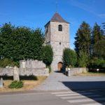 Parvis de l'Eglise St Hilaire