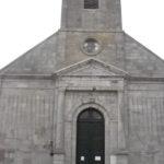 Parvis de l'église St Martin d'Ohain